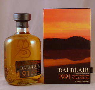 Balblair 1991-2009