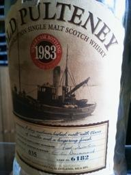 Old Pulteney 20